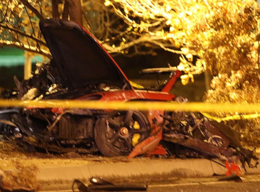 Paul Walker, Accident Scene