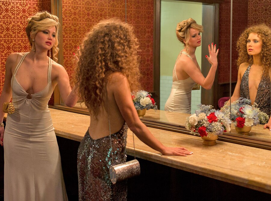 American Hustle, Jennifer Lawrence, Amy Adams