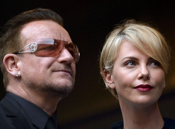 Charlize Theron, Bono