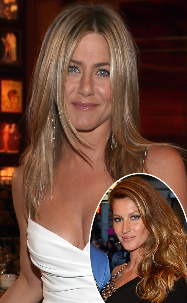 Jennifer Aniston, Gisele Bundchen
