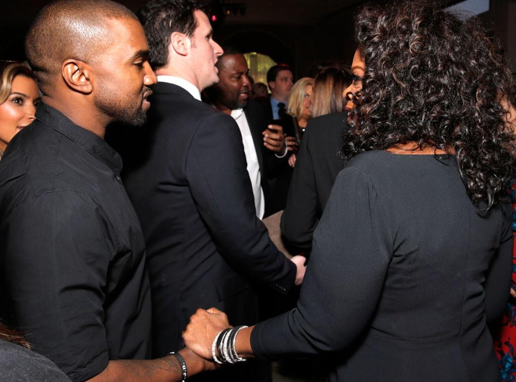 Kanye West, Oprah Winfrey, THR