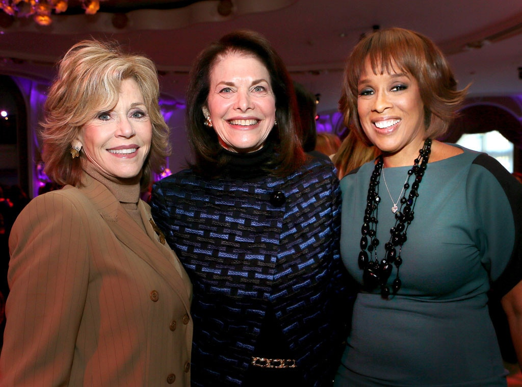 Jane Fonda, Sherry Lansing, Gayle King, THR