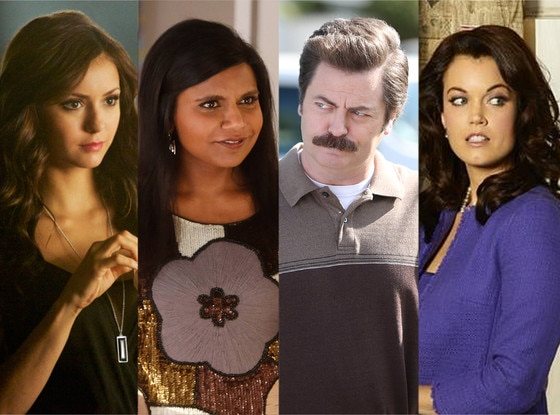 Mindy Kaling, Nina Dobrev, Nick Offerman, Bellamy Young
