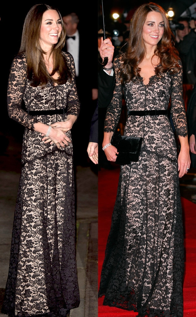 Temperley London Amoret Gown From Kate Middleton S