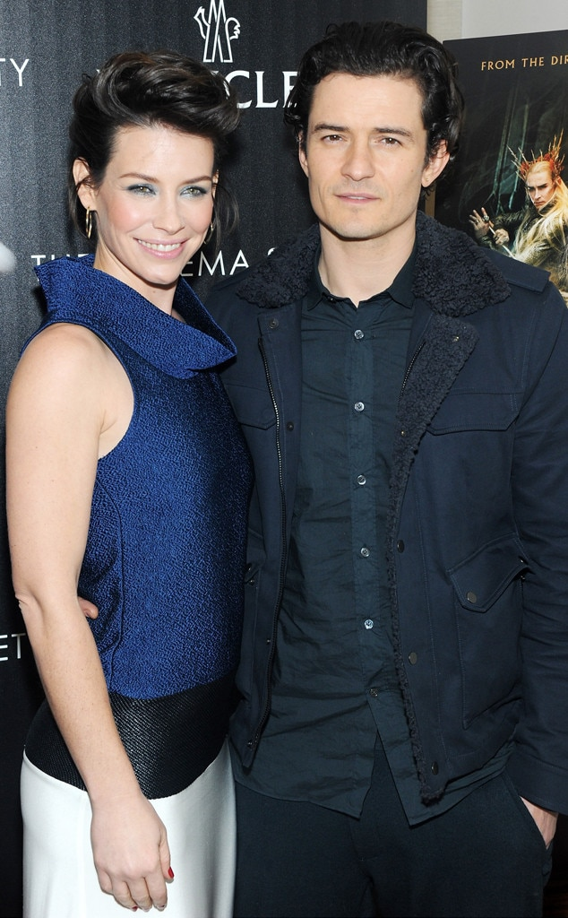Evangeline Lilly, Orlando Bloom