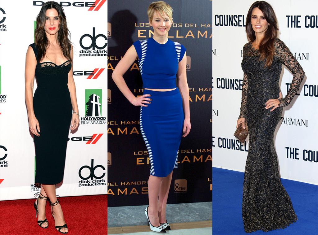 Sandra Bullock, Jennifer Lawrence, Penelope Cruz, Best Bodies