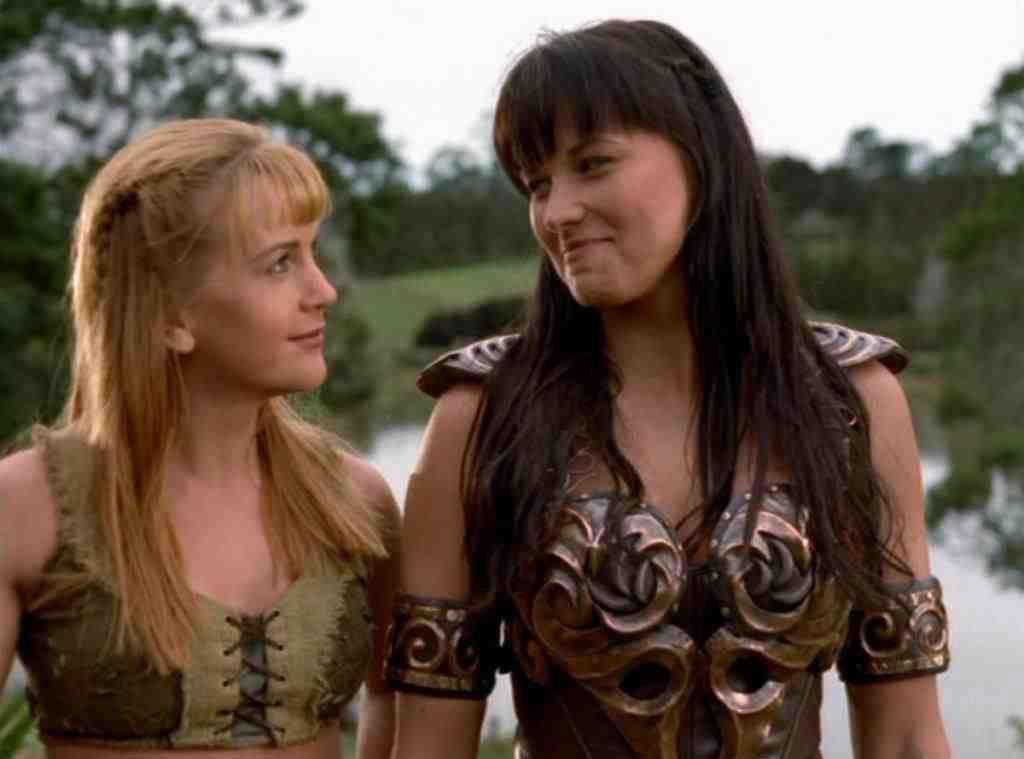 Xena Warrior Princess, Lucy Lawless, Renee OConnor