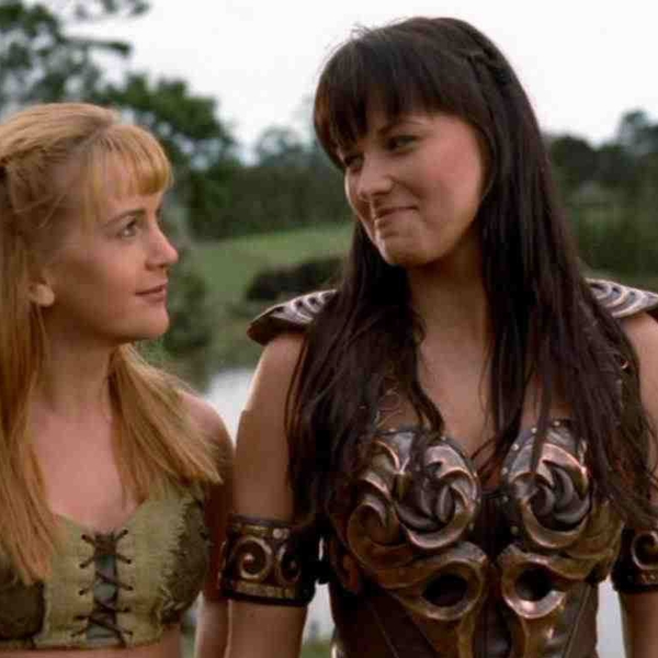 Best: Xena and Gabrielle on Xena: Warrior Princess from ...