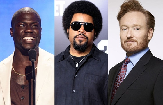 Kevin Hart, Ice Cube, Conan O'Brien