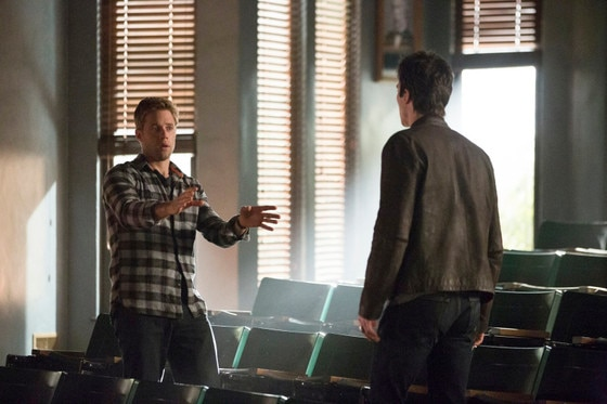 The Vampire Diaries, Shaun Sipos, Ian Somerhalder
