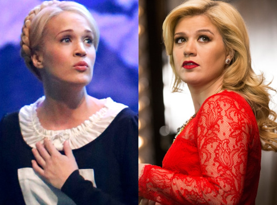 Carrie Underwood, Sound of Music, Kelly Clarkson