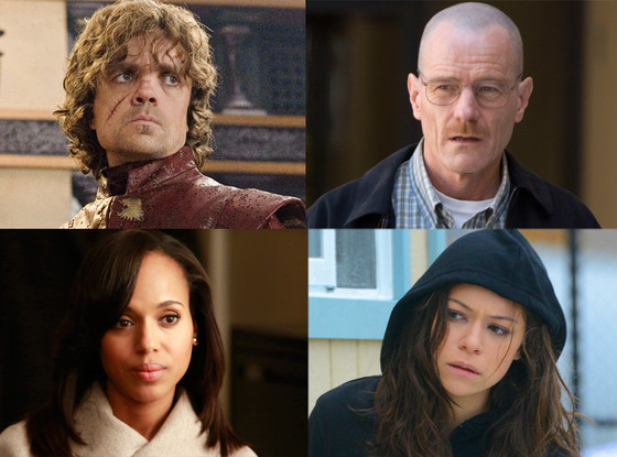 Golden Globes, Orphan Black, Breaking Bad, Scandal, Game of Thrones