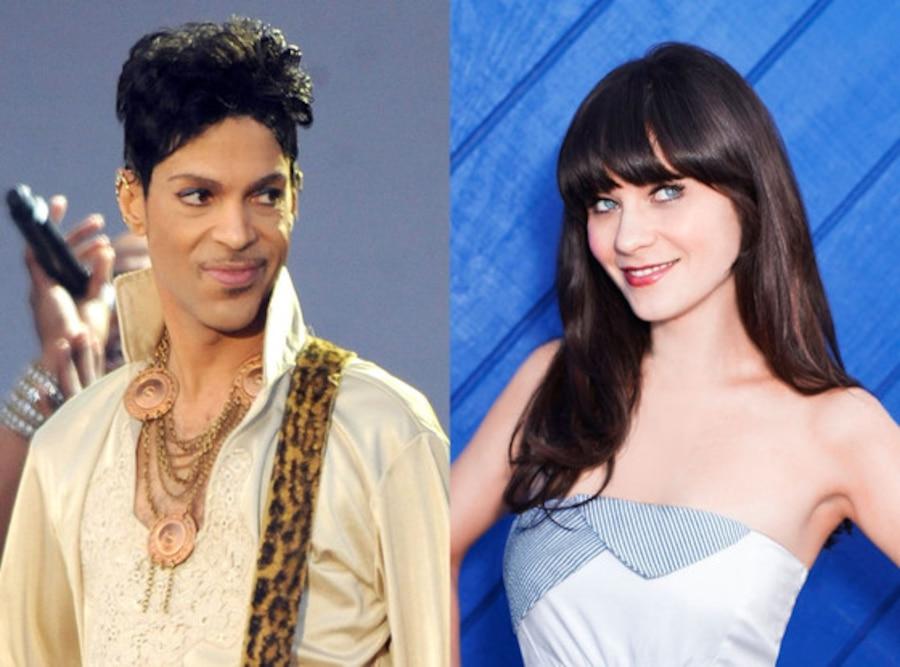 Prince, Zooey Deschanel, New Girl