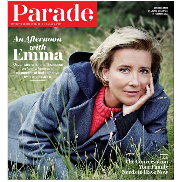 Emma Thompson, Parade Magazine