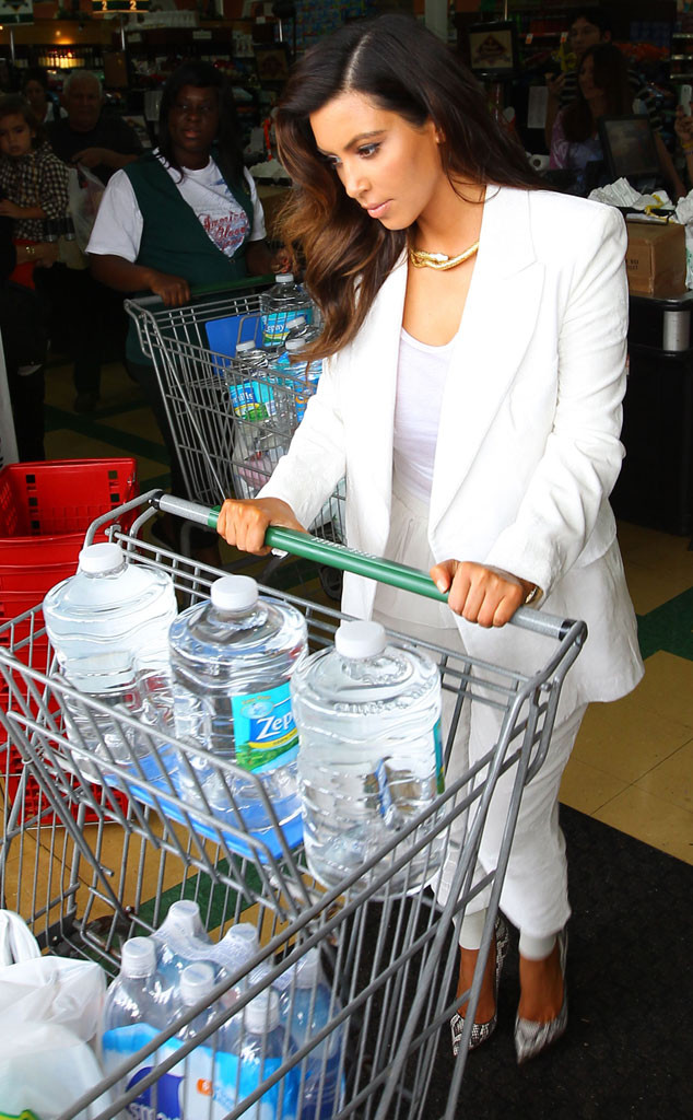 Kim Kardashian, Water