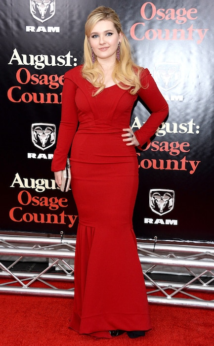 Abigail Breslin, August:Osage County
