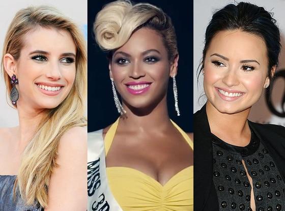 Emma Roberts, Beyonce, Demi Lovato