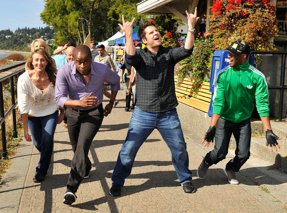 Dule Hill, James Roday, Psych