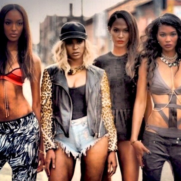 Chanel Iman, Jourdan Dunn, Beyonce