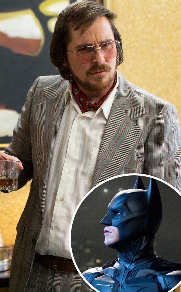 Christian Bale, American Hustle, Batman