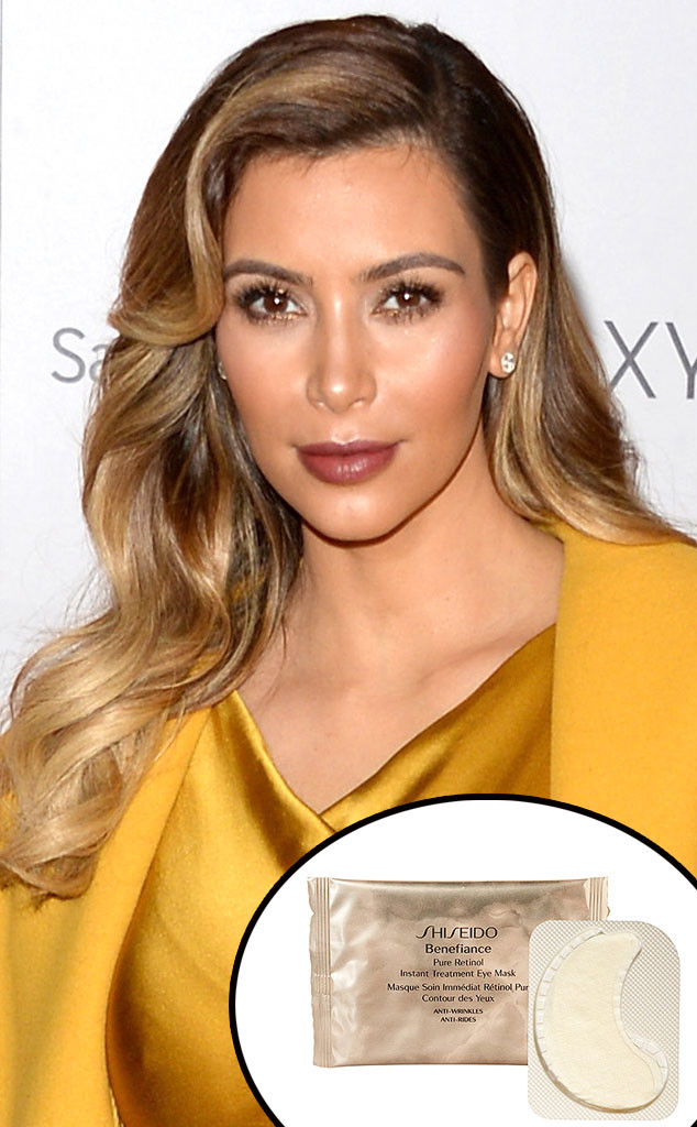 Kim Kardashian, Shiseido eye masks