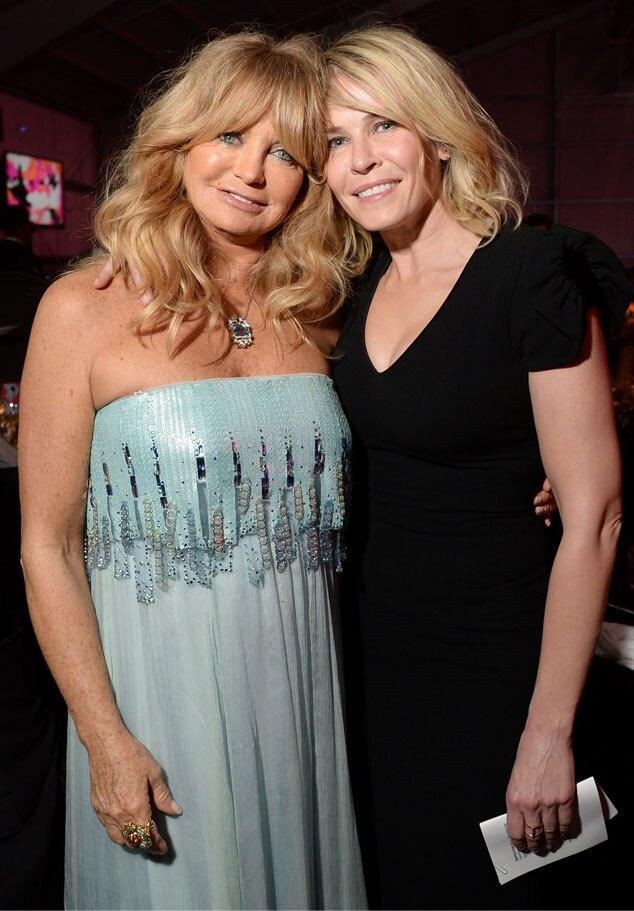 Goldie Hawn, Chelsea Handler