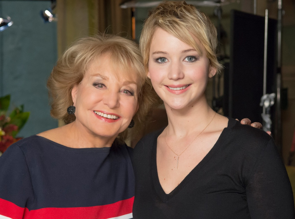 Barbara Walters, Jennifer Lawrence, 10 Most Fascinating People