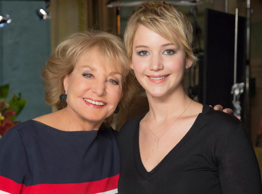 Barbara Walters, Jennifer Lawrence, 10 Most Fascinating People
