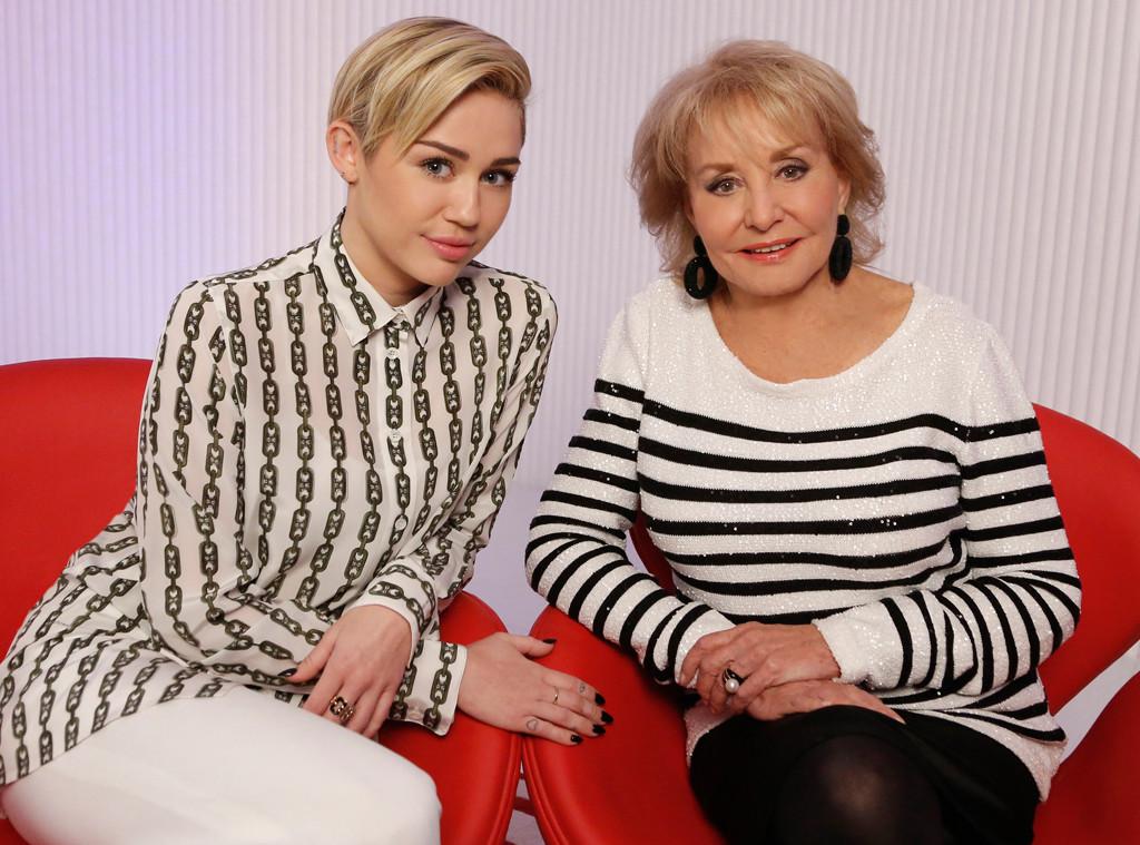 Barbara Walters, Miley Cyrus, 10 Most Fascinating People