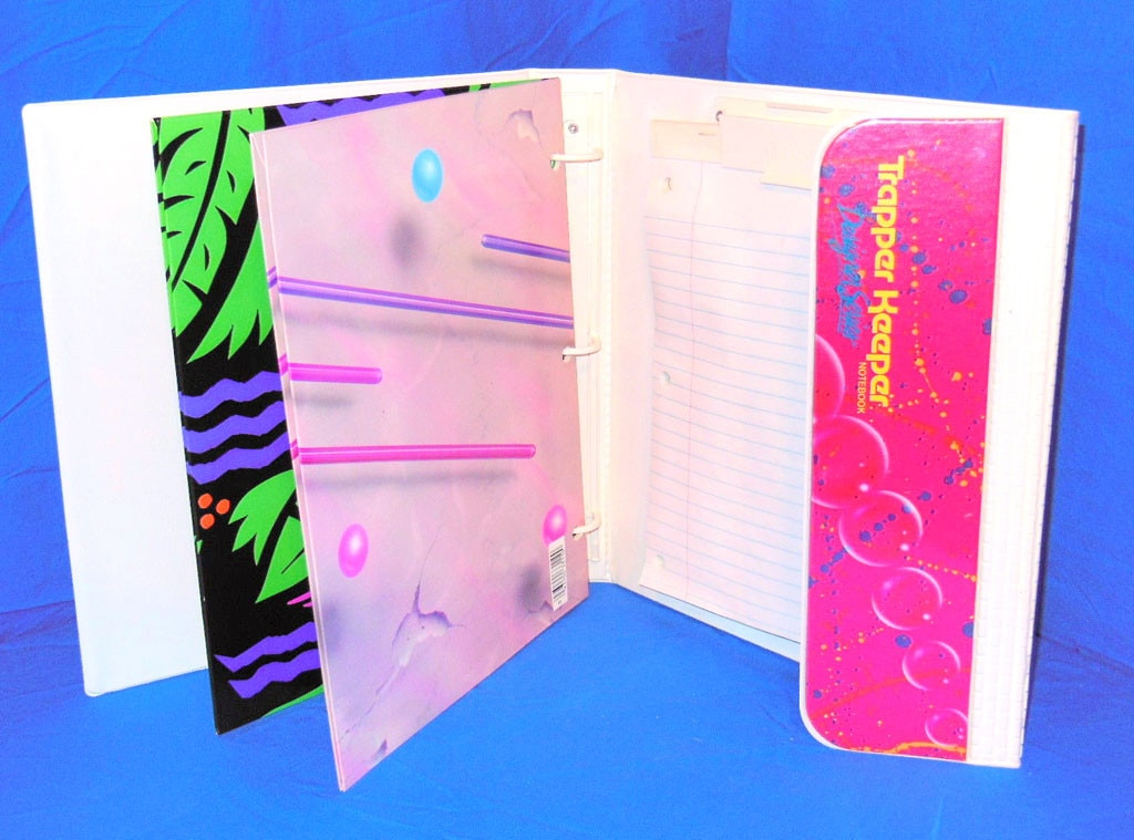 E! Loves: The 90's, Trapper Keepers