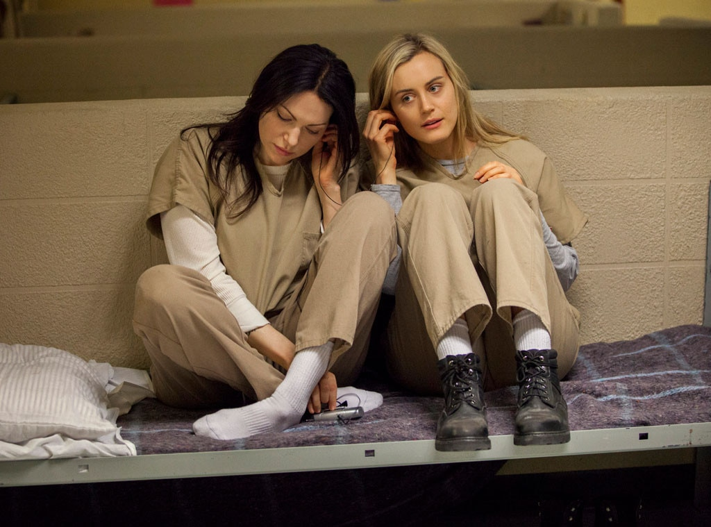 Taylor Schilling, Laura Prepon, Orange is the New Black