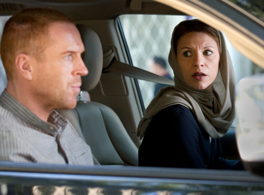 Damian Lewis, Claire Danes, Homeland