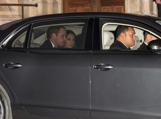 Prince William, Catherine, Duchess of Cambridge, Bentley