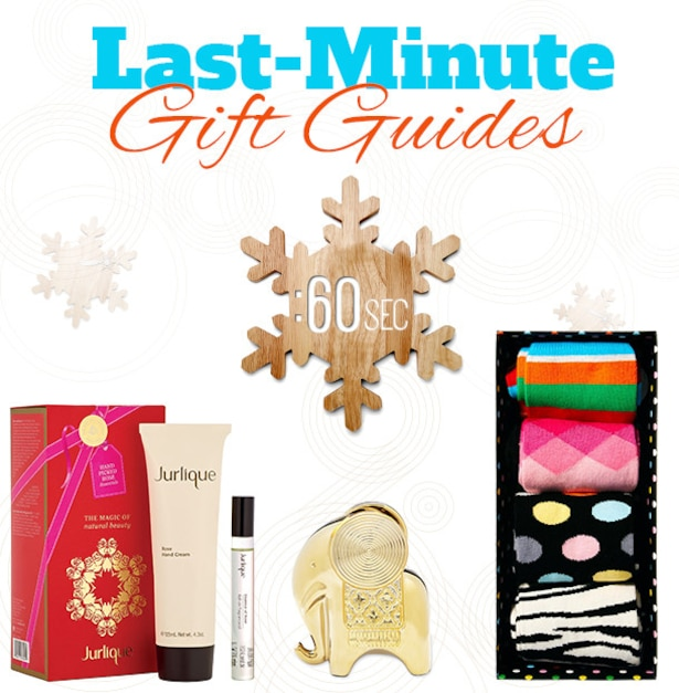 2013 Holiday Gift Guide - Last Minute Gift Ideas