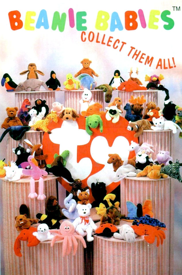 E! Loves: The 90's, Beanie Babies
