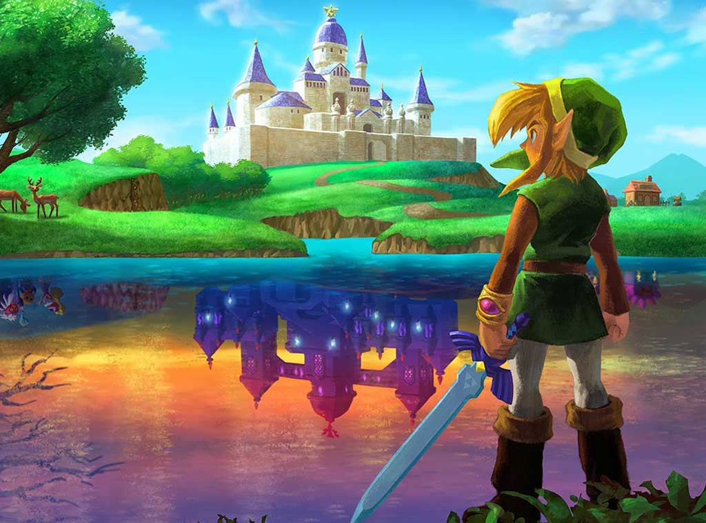 The Legend of Zelda: A Link Between Two Worlds, Video Games