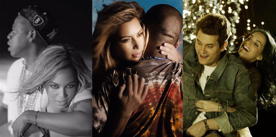 Couples Music Videos, Drunk in Love, Bound 2, Who You Love