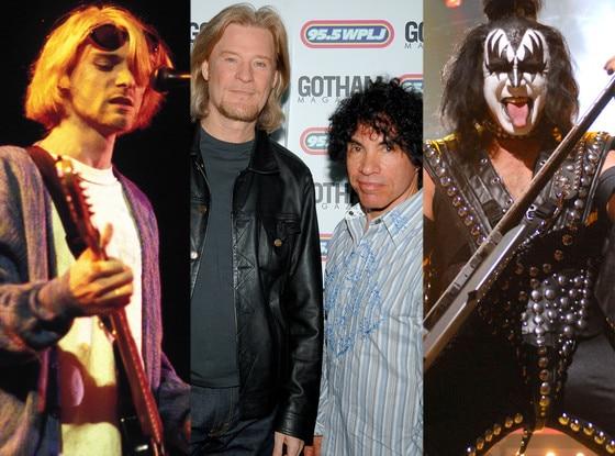Nirvana, Hall and Oates, KISS