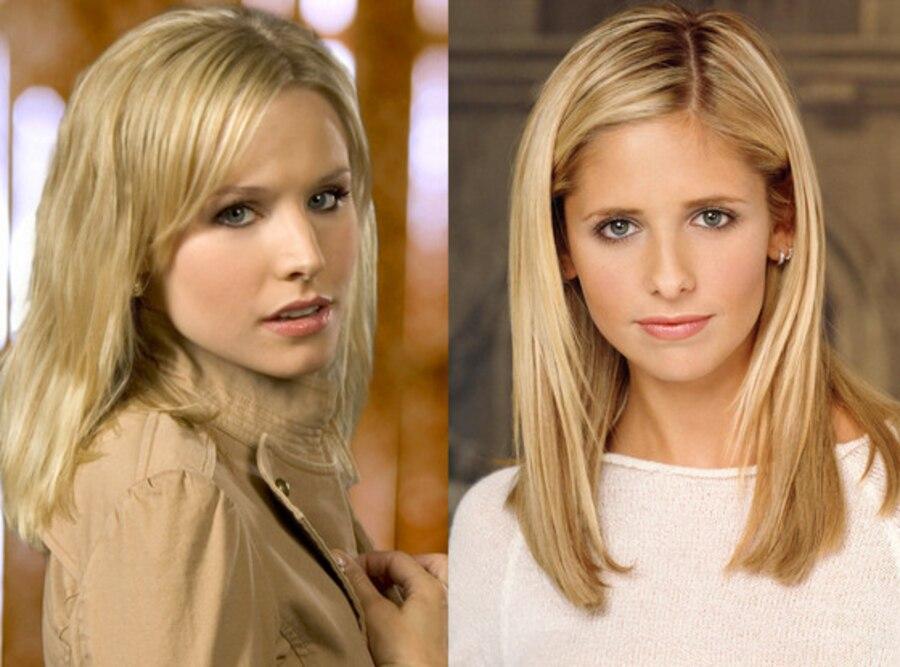 Kristen Bell, Veronica Mars, Sarah Michelle Gellar, Buffy the Vampire Slayer