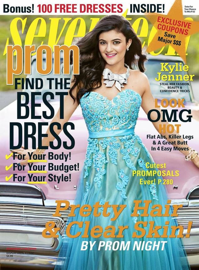 Kylie Jenner, Seventeen Magazine