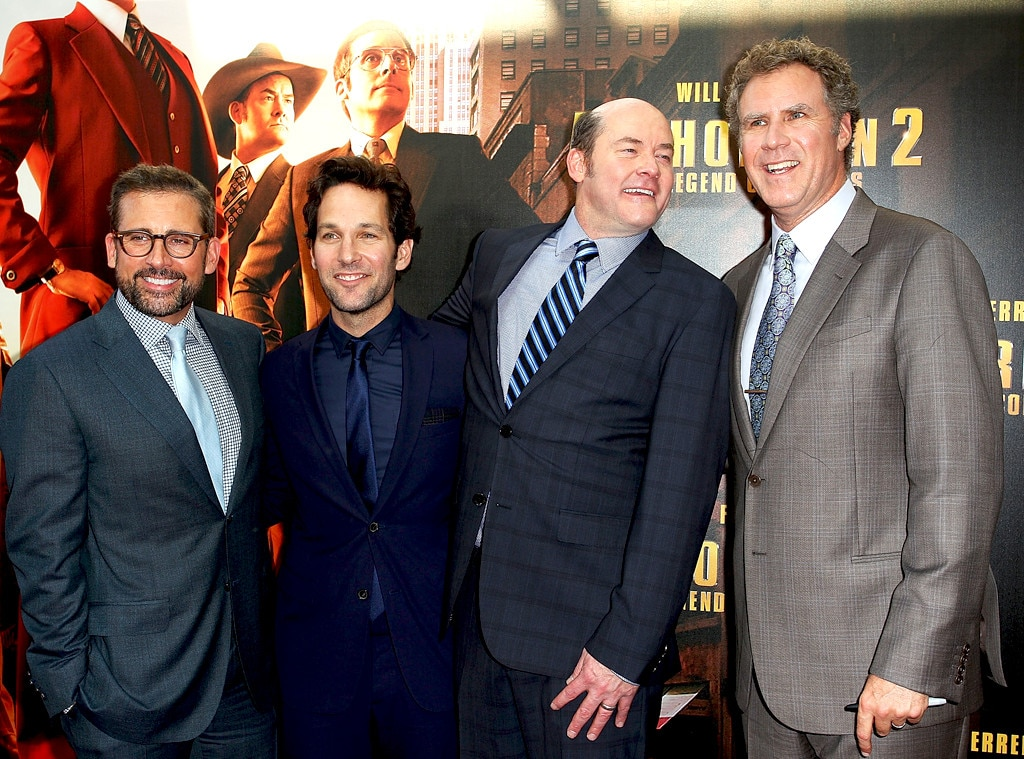Steve Carell, Paul Rudd, David Koechner, Will Ferrell