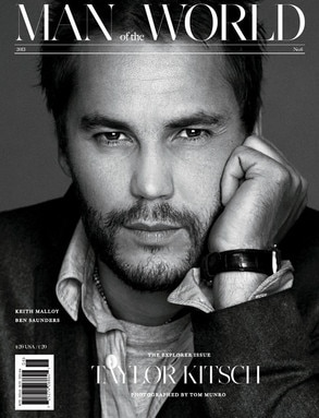 Taylor Kitsch, Man of the World Magazine