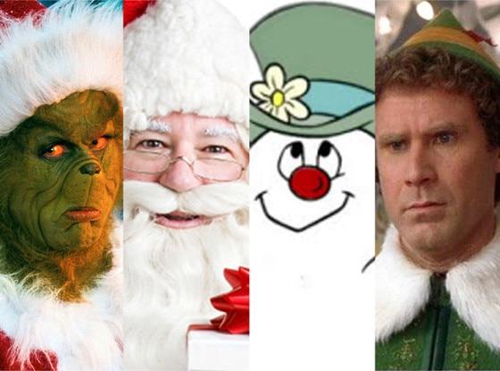 Grinch, Santa, Frosty, Elf, Christmas Movie Quiz