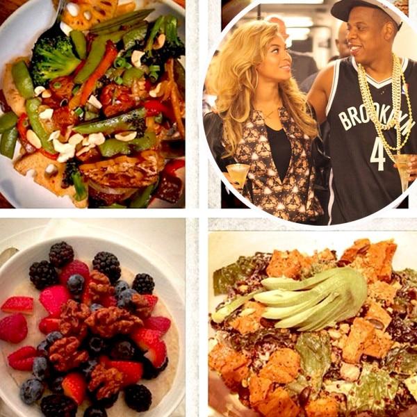 Beyonce, Jay-Z, Vegan