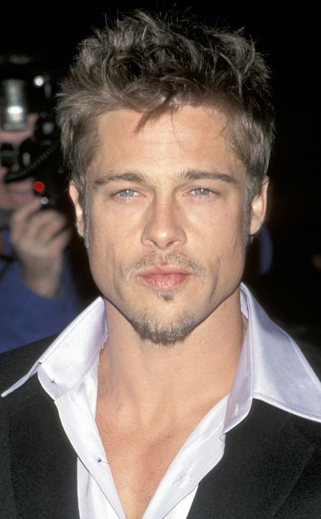1998 from brad pitt s hair through the years e news