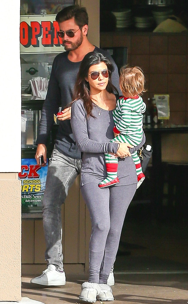 Kourtney Kardashian, Scott Disick, Penelope