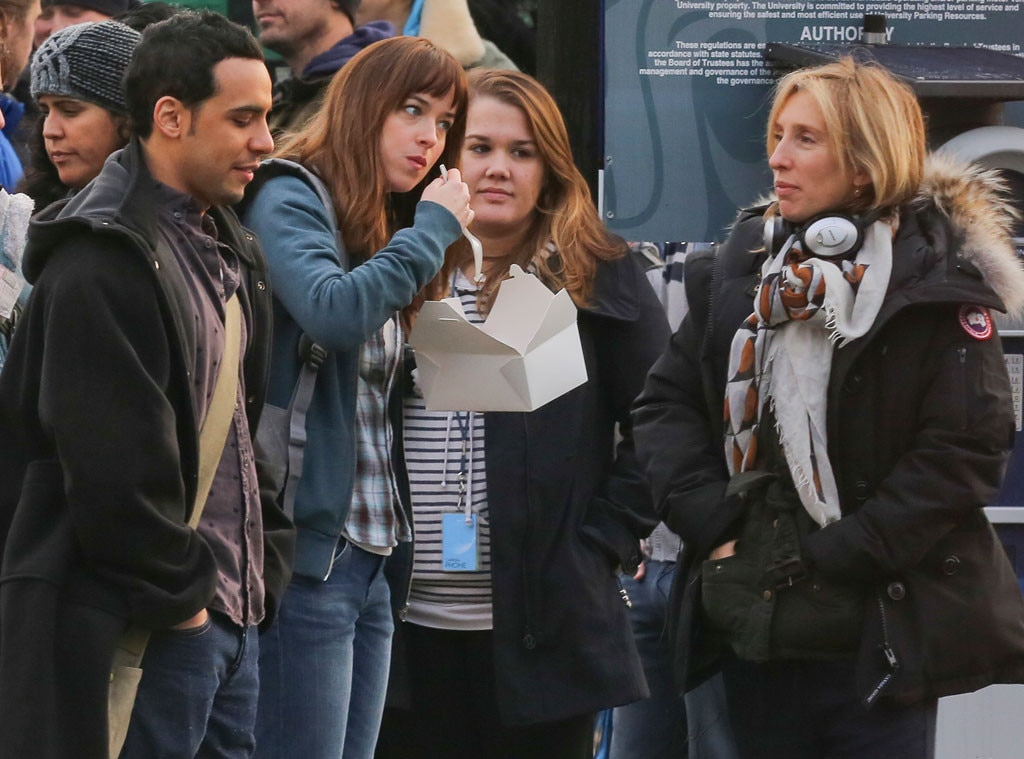 Dakota Johnson, Sam Taylor-Johnson, Victor Rasuk