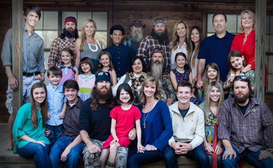 Duck Dynasty Family