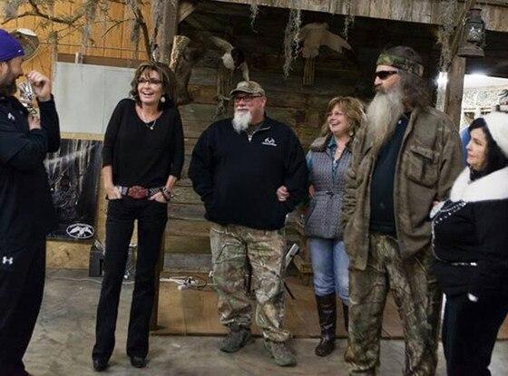 Sarah Palin, Phil Robertson