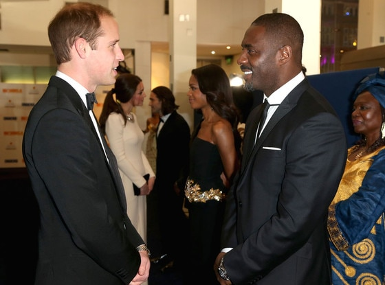 Prince William, Duke of Cambridge, Idris Elba